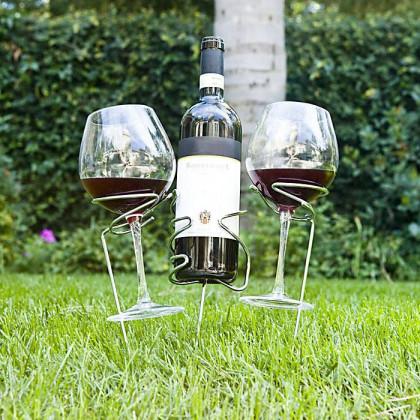 Picnic Stix Wine Set