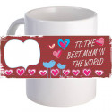 "Personalized ""Best Mum"" Coffee Mug 11oz"