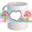"Personalized ""I Love You Mum"" 11oz Coffee Mug"