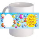 """Personalized """"This is Easter Egg Cup!"""" Beautiful Decorative Coffee Mug"""