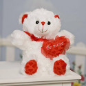 Plush Misty Be Mine Valentine Teddy Bear Perfect Gift For Loved Ones