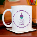 Personalized Make A Wish Mug for Birthday With Recipient's Name