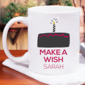 Make A Wish Personalized Birthday Mug For A Beautiful Birthday Gift