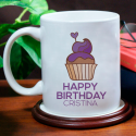 Happy Birthday Personalized Mug for Birthday Gift With Recipient' Name