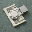 Elegant  Luxurious Personalized Tone Golf Money Clip Engraved Monogram