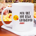 You Are The Best Grandma! Personalized 11 oz Mug