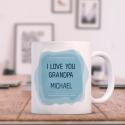 I Love You Grandpa, Personalized 11 oz Mug