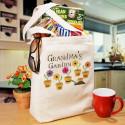 Personalized Grandma's Garden Tote Bag