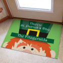 Personalized St. Patrick's Day Doormat