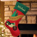 Vroom! Cycle Christmas Stocking