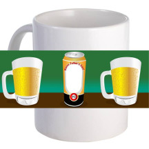 """Personalized """"Father's Day Beer"""" 11oz Coffee Mug"""