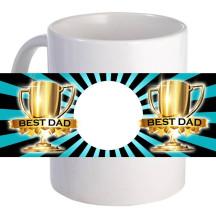 "Personalized ""Best Dad"" 11oz Coffee Mug"