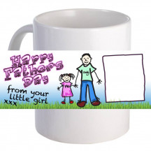 """From Your Little Girl""  11oz Coffee Mug"