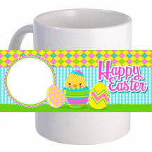 "Personalized ""Hatching Happy Easter!"" 11oz Coffee Mug"