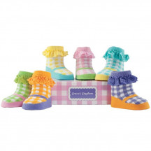 Socks 6 Pack Gingham