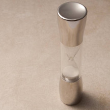 Beautiful And Luxurious The Silver Sandtimer Contemporary