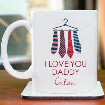 I Love You Daddy Personalized 11 oz Mug
