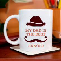 My Dad is the Best Personalized 11 oz Mug for Father's Day