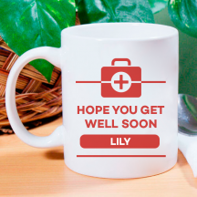 Hope You Get Well Soon Personalized 11 oz Mug
