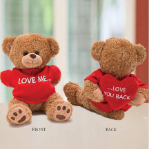 Plush Kevin Bear Love me, Love you Back Valentine's Day Gift
