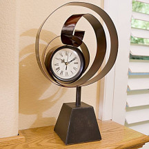 Imax Curly Clock