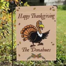 Happy Thanksgiving Garden Flag