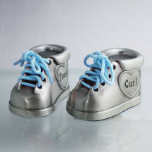 Engraved Tooth & Curl Booties