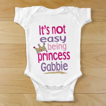 Personalized Princess Baby Outfit