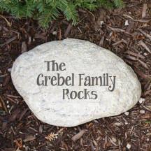 Family Garden Stone