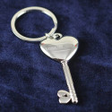 Personalized Key To My Heart Key Chain with Printed Custom Name/Quote