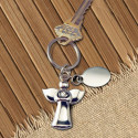 Personalized Winged Angel Key Chain with Custom Name/Photo Printed