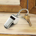 Personalized Coach Whistle Keychain Custom Monogram, Message Engraved