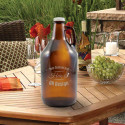 Personalized Howler Beer Growler 64oz