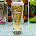 Personalized Libbey Mini Pilsner / Shooter Glass