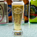 Personalized Anniversary Libbey Mini Pilsner / Shooter Glass