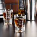 Personalized Libbey Fluted Whiskey / Shot Glass