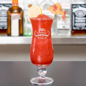 Personalized Valentine's Day Core Hurricane Glass