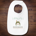 Personalized Christmas Infant Premium Jersey Bib