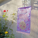 Proudly Announce Arrival Of Your Baby Girl Lovely Nylon Door Hanger