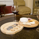 Personalized Round Cheese Board And Knife-Beautiful & Perfect Gift For Cheese Lover