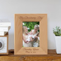 My Christening Day Personalized Wooden Picture Frame