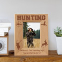 First Hunting Trip Personalized Wooden Picture Frame