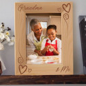 Grandma and Me Personalized Wooden Picture Frame