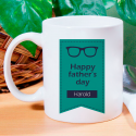 Happy Father's Day Beautifully Designed And Personalized Mug