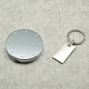 Personalized Compact Case and Key Chain Set