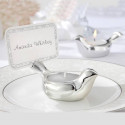 Love Dove Tea Light-Place Card Holder- Set