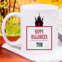 Happy Halloween Perfect Mug Fully Personalized With Name Printed On It