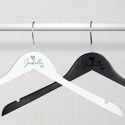 Personalized Engraved Wooden Name of the Bride Wedding Hangers