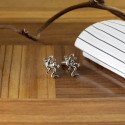 Unique Designed Zany Lizard Cuff Links Best Gift For Him
