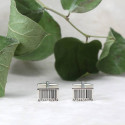 Unique Bar Code Design Novelty Cuff Links Add Fun To Your Dressing
